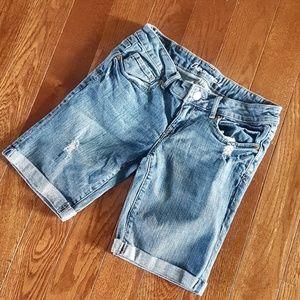 🌿 Aeropostale Bermuda Jean Shorts